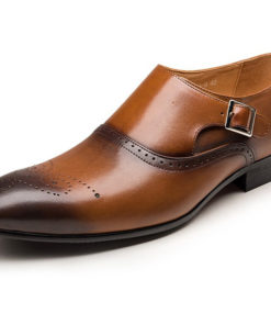 Men's Bullock Shoes Faux Leather Spring & Summer / Fall & Winter Business / Casual Loafers & Slip-Ons Breathable Black / Brown
