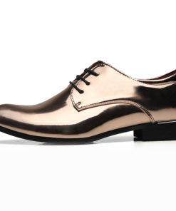 Men's Comfort Shoes Faux Leather Fall & Winter Classic / Chinoiserie Oxfords Non-slipping Gold / Red / Blue / Party & Evening / Sequin / Party & Evening